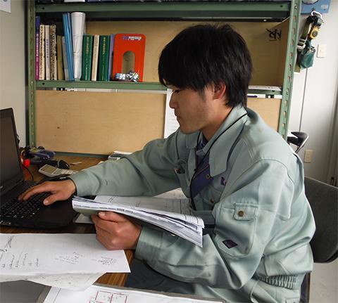 本社建築部 I・S 2014年入社(美作大学 生活科学部 福祉のまちづくり学科)